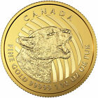 2016 Canadian 1 10oz Gold Growling Cougar .99999 in Assay