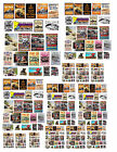 1:24 1:32 1:43 1:64 DIRT TRACK RACING POSTERS DECAL FOR DIECAST & OTHER DIORAMAS