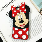 3D Cute Animals Cartoon Soft Silicone Case Cover Back Skin For LG Various Phone