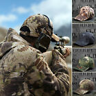 New Special Forces Shooter Agent Men's Tactical Army Camo Baseball Cap Hat