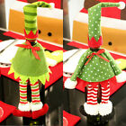 New Christmas Wine Bottle Bag Cover Pouch Decoration Hat Xmas Party Dinner Table