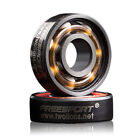 608RS Good Roller Skates Ceramic Ball Inline Skate Bearings Drift Plate Hot FE