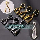 14mm 17mm 19mm Pinch Bails Pendants Clip Connectors Jewelry Making Clasps Hooks