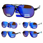 Arctic Blue Bluetech Revo Lens Metal Sporty Aviator Sunglasses