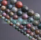 Wholesale Lot 4mm 6mm 8mm 10mm Natural Stone Gemstone Round Loose Spacer Beads