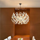 Nordic LED Aluminum Ceiling Light Lamp Droplight Decor Cafe Dining Room Hotel