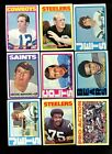 1972 TOPPS FOOTBALL COMPLETE SET (1-263) NM *50508
