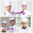 Adult Tall White Chef Baker Cook Chef Chef's Hat Fancy Dress Costume Accessory S