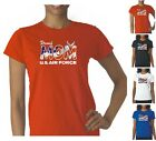Air Force Logo Mom US Flag Military T-Shirt, Patriotic T-shirt