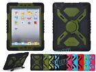 Hybrid Heavy Duty Kid Proof Silicone & Plastic Rugged Case Cover for Apple iPad