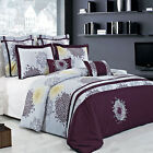 Fifi 100% Cotton Embroidered Multi-Piece Duvet Cover Set Super Soft and Comfy image