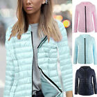 New Fashion Women's Casual Hooded Winter Warm Down Parka Short Jacket Coats Top