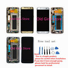 OEM For Samsung Galaxy S7 Edge G935F frame LCD Display+Touch Screen Digitizer