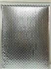 Metallic Foil Lined Padded Bubble Mailing Mail Postal Shiny Bags  400mm x 500mm