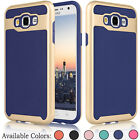 Heavy Duty Shockproof Hybrid Rubber Hard Case Cover for Samsung Galaxy J7 2015