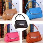 Women Pu Leather Handbag Vintage Shoulder Bag Designer Satchel Tote Hotsale