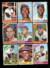 1966 TOPPS BASEBALL NEAR COMPLETE SET 593/598 NM *51292