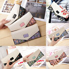 Hot Fashion Women Lady Leather Clutch Wallets Long PU Card Holder Purse Handbag