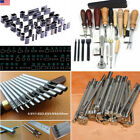 metal punch tools - Various Leather Craft Tools Punch Stitching Stamp Leather Working Tool Kit Metal