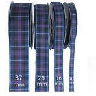 Pride of Scotland Modern Tartan Ribbon - various widths, cut lengths & 25m reels