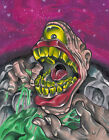 Cyclops Invasion by Corey Smola Scary Monster New School Tattoo Canvas Art Print