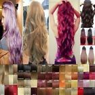 Clearance Sale 3/4 Full Head Clip In Hair Extensions CURLY Straight Wave Hair NM