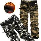 Winter Combat Men Cotton Cargo ARMY Pants Military Camouflage Camo Trousers 1-3#