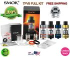 100% New SMOK TFV8 Cloud Beast Tank Stainless or Black.Full Kit, Limited Stock