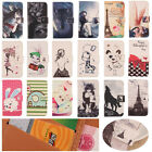 Flip Design PU Leather Case Cover Skin Protector Wallet For Blu Various Phones