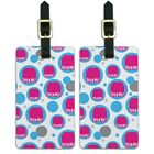 Luggage Suitcase Carry-On ID Tags Set of 2 Birthday Party