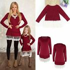 Kyпить Mother & Daughter Lace Dress Kid Girl Parent Family Matching Party Casual Blouse на еВаy.соm