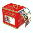 Tallon Christmas Collection Gold Foil Adhesive Label (Pack of 100)
