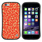 Anti-Shock Tpu Case Bumper Cover For Apple iPhone Christmas gold Red