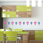 Ice Cream Cone Food And Drink Creative Multipack Wall Stickers Home Art Decals