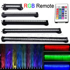 RGB LED 5050 SMD Aquarium Fish Tank Light with IR Remote Submersible Airstone