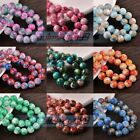New Colorful Round Loose Glass Spacer Beads 6mm 8mm 10mm 12mm Wholesale Bulk