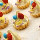 Kawaii Flat Back Resin Creamy Pie Cabochon Decoden Charm