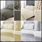 Ariana Embroidered Modern Luxury Cotton Blend Duvet Cover Bedding Quilt Set