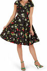 BlackButterfly 'Cynthia' Vintage Joy Rockabilly 50's Swing Prom Pinup Dress