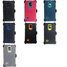 For Samsung Galaxy Note 4 Defender Case Protector Cover (Clip Fits Otterbox)