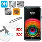 3Pcs Premium Real 9H Tempered Glass Film Screen Protector Guard for LG X Power