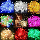 10M 32FT 100 LED Christmas Tree Fairy String Party Lights Lamp Xmas Waterproof