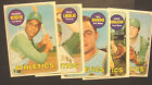"""1969 5- TOPPS BASEBALL CARDS OAKLAND A""""S #217-618 EXMT/NM *NICE LOT*"""