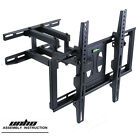 TV Wall Mount Strong Universal Dual Arm LED Plasma Tilt Swivel Support 29 to 56*