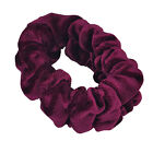 Large & Top Quality Velvet Scrunchies Color Assorted Hair Holder FashionSolid