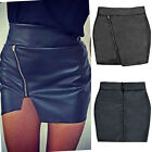 Women High waist Pleated Stretch Formal Mini Skirt Short Pencil Tight Mini Dress