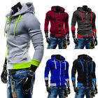 Stylish Young Mens Jacket Jacket Outwear Sweater Slim Winter Hoodies With Zipper