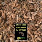 Reptile Bedding Substrate. Half Inch Coco Chips. 38 Quarts. DELIVERY IN 2-8 DAYS