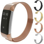 Magnetic Milanese Stainless Steel Loop Wrist Mesh Band Strap for Fitbit Charge 2