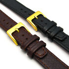 Open Ended Leather Watch Strap/Band for Vintage Watch Choice of Colours D003
